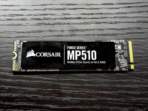 Corsair Force Series MP510 SSD