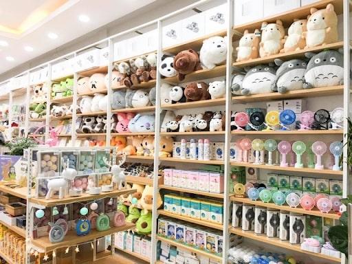 Địa điểm mở shop quà tặng tại Hà Nội